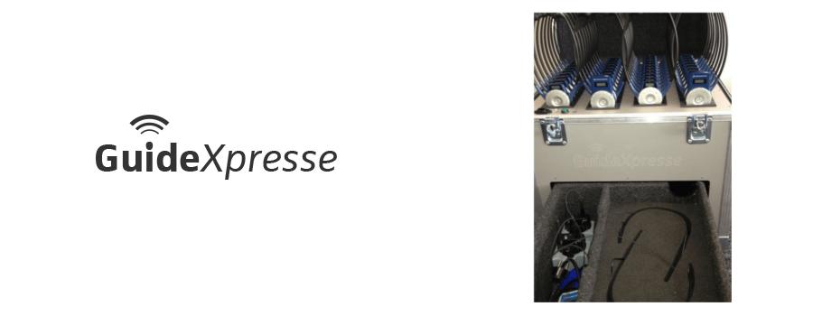 GuideXpresse levert en verhuurt tolksystemen