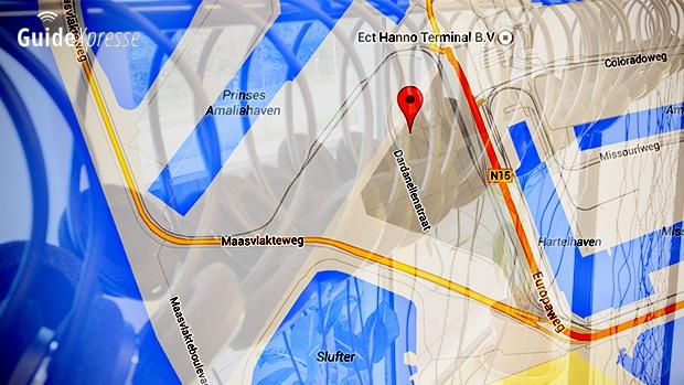 Tourguide Audio ontvangers op Maasvlakte