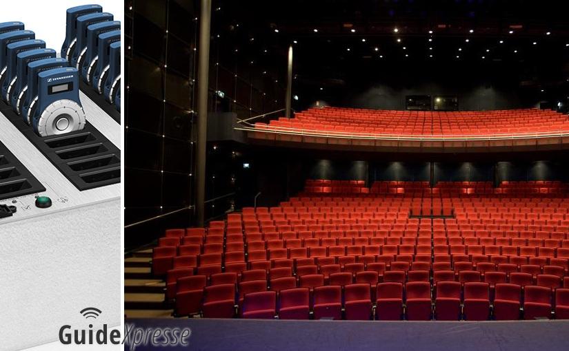 Sennheiser Tourguide 2020D Stadstheater Zoetermeer