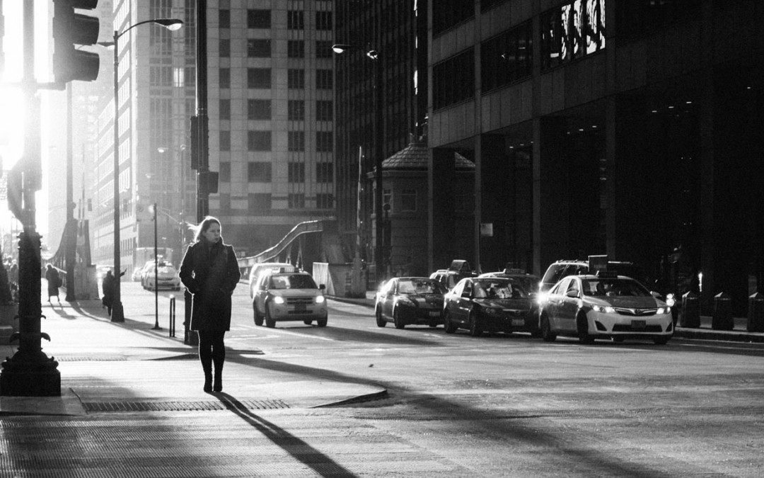 Stadswandeling en niemand luistert