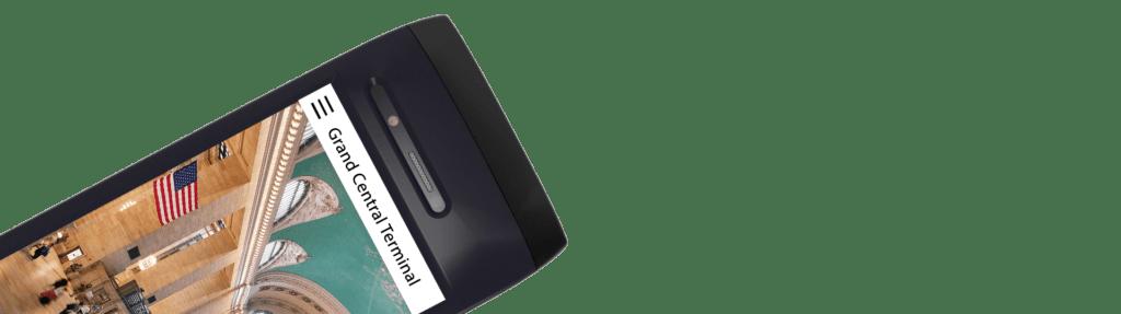 Orpheo Touch Multimedia Guide 2 hoofdtelefoonaansluitingen